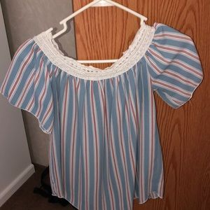 Rue 21 off the shoulder top